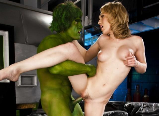 The incredible hulk fuck pics 14