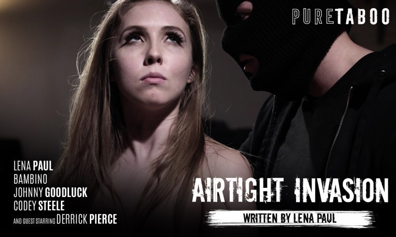 Lena Paul Braces for an Airtight Invasion from Pure Taboo