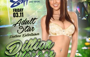 Dillion Harper in Las Vegas March 11