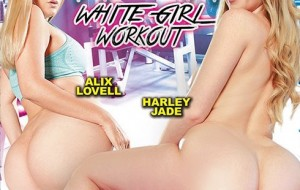 Harley Jade in White Girl Workout