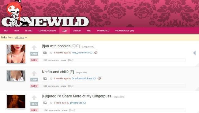 Amateur porn site list