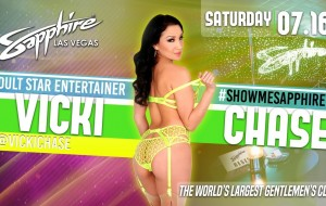 Vicki Chase set to get wet and wild in Las Vegas thisweekend.