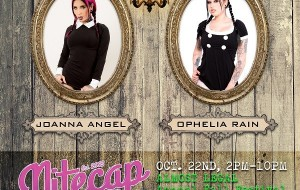 Joanna Angel, Ophelia Rain to Appear at 'Almost Legal' Fall Festival in New York