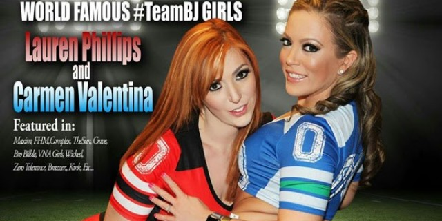Lauren Phillips & Carmen Valentina in Fort Wayne IN
