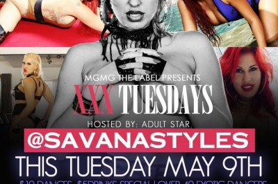 Savana Styles to Host XXX Tuesdays at Club Platinum in Atlanta, GA