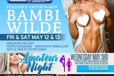 Bambi Wilde at Creekside Cabaret Gentlemen's Club