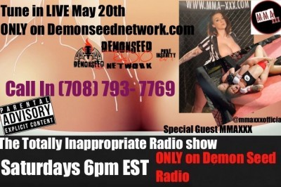 The Totally Inappropriate Radio Show Welcomes MMA-XXX.com Owners & Talent