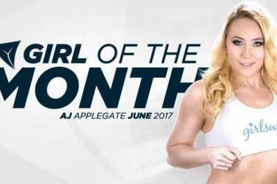 AJ Applegate June 2017 Girlsway Girl of the Month