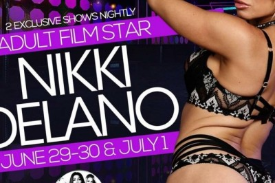 Nikki Delano Featuring at Fetish Gentlemen's Club in Columbus, GA