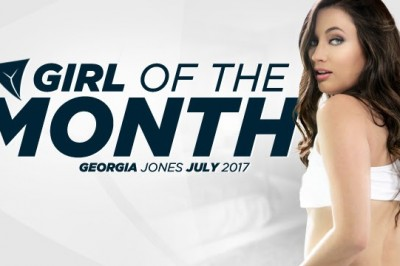 Georgia Jones honored as Girlsway's July 2017 Girl of the Month