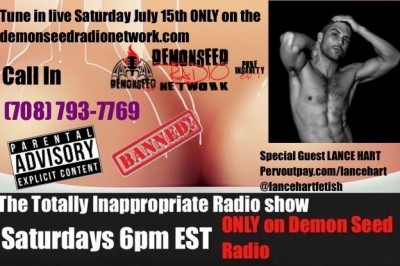 The Totally Inappropriate Radio Show Welcomes Lance Hart