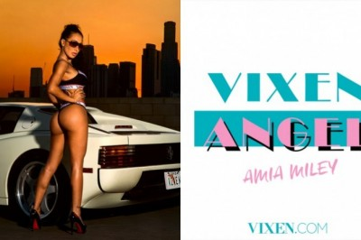 Amia Miley is the Newest VIXEN Angel