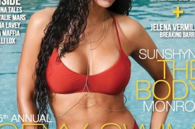 Sunshyne Monroe Scores Swimsuit Edition Cover of Transformation Magazine