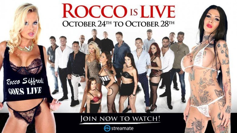 See Rocco Siffredi Live Exclusively on Streamate