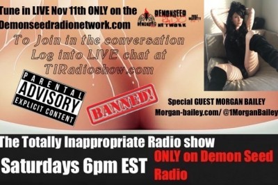The Totally Inappropriate Radio Show Welcomes TS Star Morgan Bailey