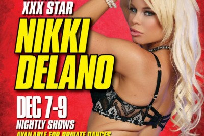 Nikki Delano Headlining at Déjà Vu Showgirls & Little Darlings in Flint, Michigan