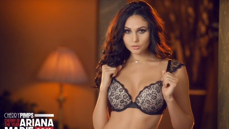 Colored Female Porn Stars - Cherry Pimps' Crowns Ariana Marie 2018 Cherry of the Year