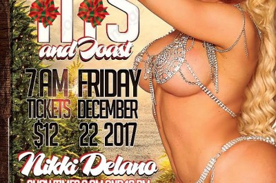 Nikki Delano Headlining Angels Gentlemen's Club in Kalamazoo, Michiga