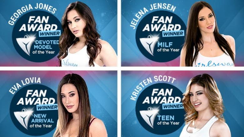 Girlsway Announces 2017 Fan Awards Winners