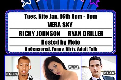 Ryan Driller & Ricky Johnson Appearing Live on CannaPornia Show Tonight