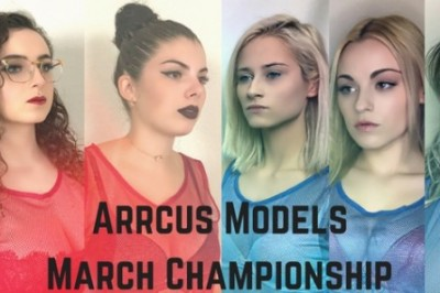 Anna Claire Clouds & Arrcus Models Roll Out March Championship