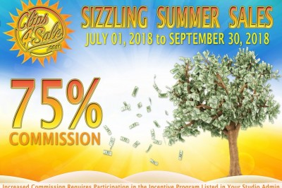 Clips4Sale Announces Sizzling Summer Sales Incentive Program