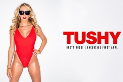 Brett Rossi Debuts First-Ever Anal for Tushy