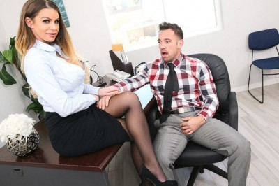 Brooklyn Chase Returns to Naughty Office…Work Has Never Been This Much Fun!