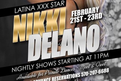 Nikki Delano Returns to Feature at Dream Girls' Teasers in Wilkes Barre, Pennsylvania