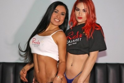 Rick's Cabaret New York Girls Invite You To Watch The NBA Playoffs  With Them