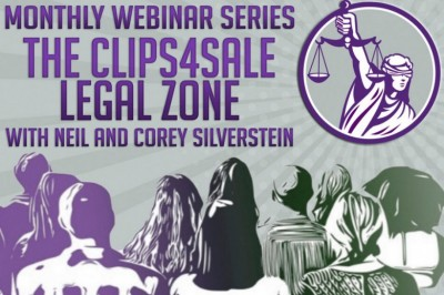 Clips4Sale Launches New Legal Webinar Series with Neil & Attorney Corey D. Silverstein