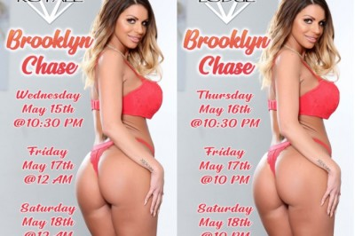 Brooklyn Chase Takes Over Ohio with 4 Nights of Features at 2 Gentlemen's Clubs