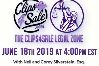 Mark Your Calendars for Another Clips4Sale Legal Zone Tomorrow