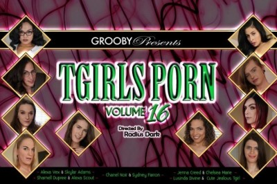 New Grooby Release Shows Off 10 Starlets in Latest 'TGirl' Collection