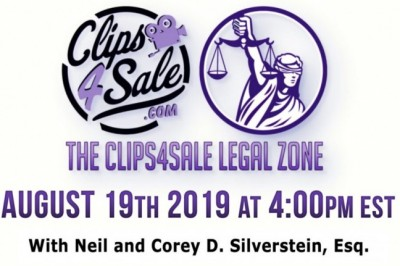 What Do Jeffrey Epstein & The Adult Industry Have in Common?  Find Out in The Clips4Sale Legal Zone