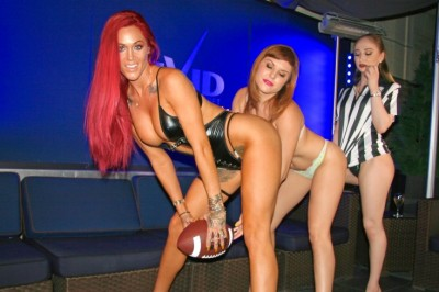 Vivid Cabaret New York Girls Love Football!