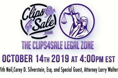 Clips4Sale's Legal Zone Is Back & You Don't Want to Miss It!