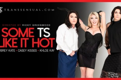 Aubrey Kate Likes it 'Hot' in TransSensual Erotic Parody