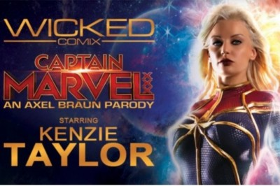 Wicked's 'Captain Marvel XXX: An Axel Braun Parody' Flies Into DVD Release