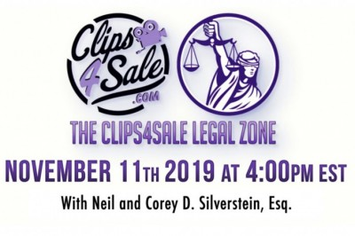 Clips4Sale's Legal Zone Is Back & Covering Topics That Impact Your Business