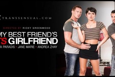 Daisy Taylor Strays in 'TS Girlfriend' for TransSensual