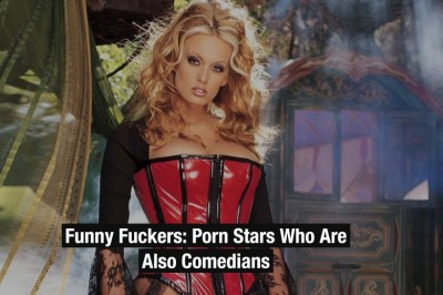 Allie Awesome Featured in Hustler Piece about Adult Stars Doubling as Comedians