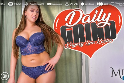 Kagney Linn Karter Unwinds in MILF VR's Latest 'Daily Grind'