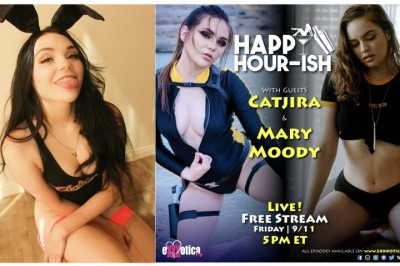 Catjira Announces Chaturbate Debut & Guests on Danglin' After Dark & Happy Hour-ish