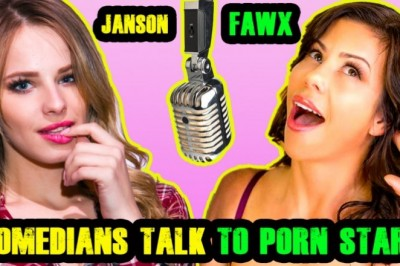 "Alexis Fawx & Jillian Janson Star on ""Comedians Talk to Porn Stars"""