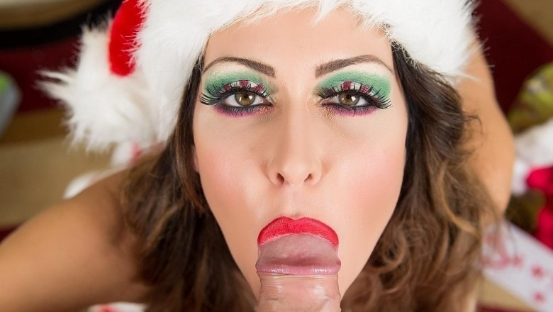 Lick My Candy Cane: Top Pornstars Celebrating Christmas